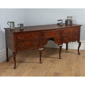 Antique George III Shropshire Oak Dresser Base (Circa 1780 - 1800)