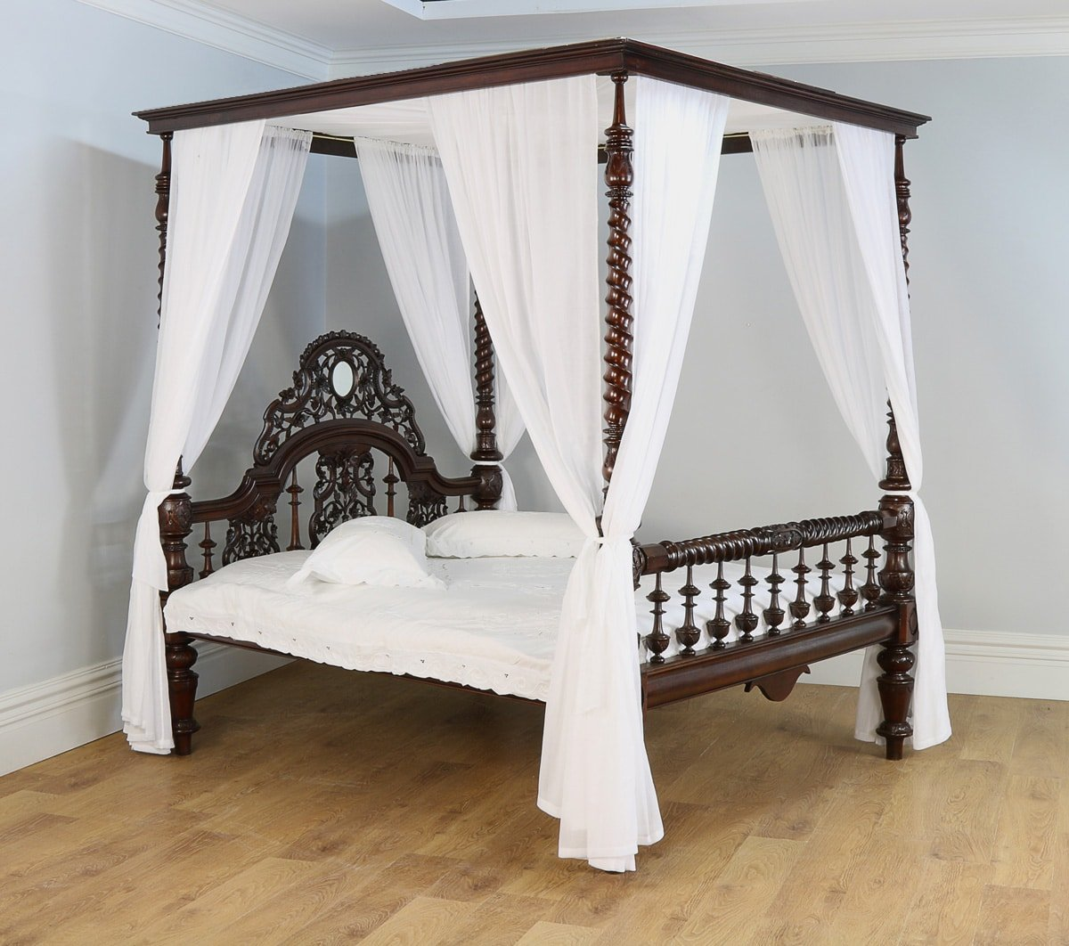 History Of Our Colonial Anglo Indian Four Poster Beds