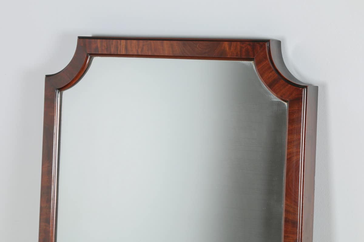 Antique victorian mahogany wall floor standing cheval for Antique standing mirror