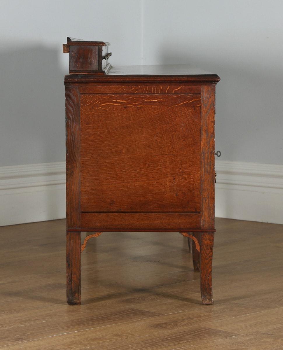 Antique english georgian oak shropshire staffordshire for Furniture kelsall
