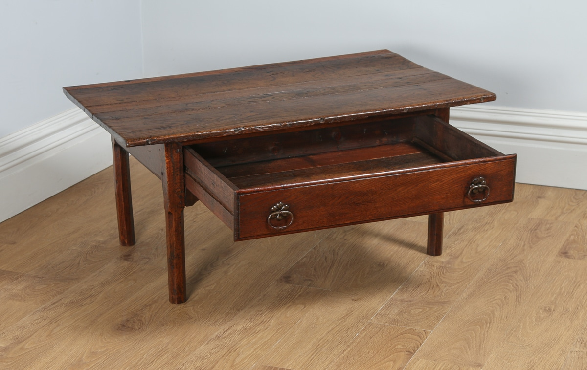 Antique French Provincial Country Chestnut Coffee Table Circa 1780 Antique Furniture Four