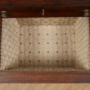 Antique Regency Rosewood Ladies Sewing Worktable (Circa 1820)Antique Regency Rosewood Ladies Sewing Worktable (Circa 1820)