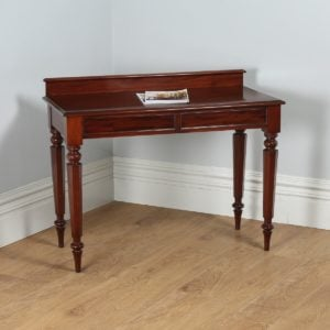 Antique English William IV Mahogany Console Side Table (Circa 1830) - yolagray.com
