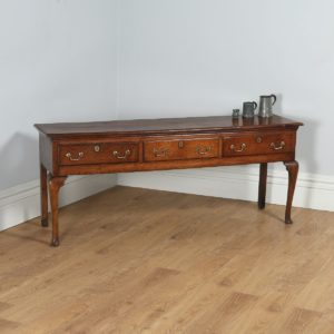 Antique George III Shropshire / Staffordshire Joined Low Dresser Base (Circa 1780) - yolagray.com