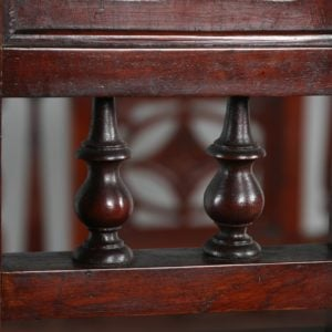 "Antique 5ft 10"" Colonial Raj Victorian Bombay Mahogany Four Poster Bed (Circa 1880) - yolagray.com"