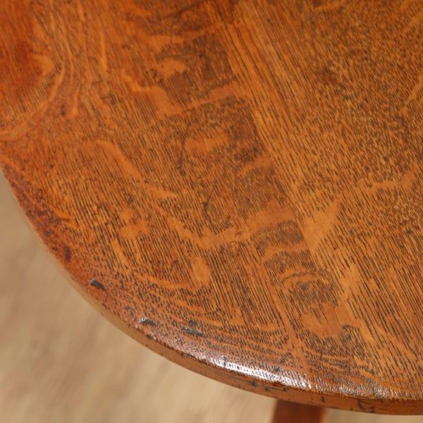 Antique Edwardian Oak Revolving Swivel Office Desk Arm Chair (Circa 1900)- yolagray.com