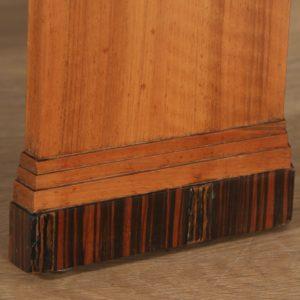 Art Deco Figured Walnut & Coromandel Octagonal Centre Coffee Occasional Side Table (Circa 1930)