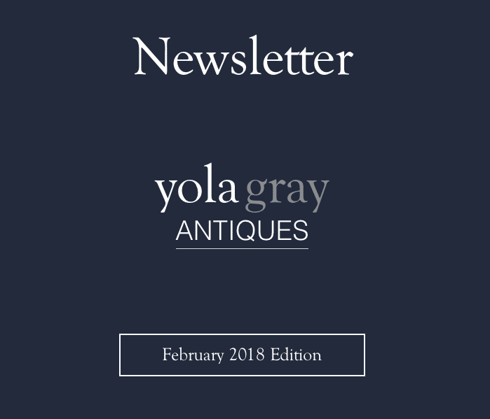 yolagray.com February 2018 Newsletter