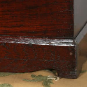 Antique Victorian Colonial Campaign Teak Writing / Jewellery / Sewing Box (Circa 1870)- yolagray.com