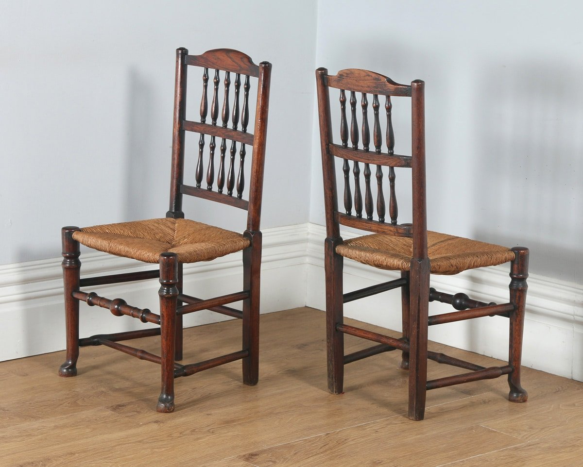 country farmhouse furniture. Unique Farmhouse Antique Set Of Six English Georgian Ash U0026 Elm Spindle Back Country Farmhouse  Kitchen Dining Chairs Throughout Furniture G