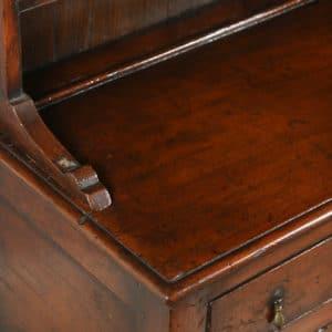 Antique Welsh Georgian Pine Dresser Base & Rack Sideboard Cupboard (Circa 1780) - yolagray.com