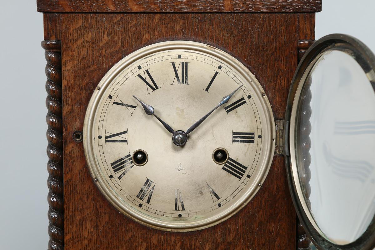German mantel clock empire style