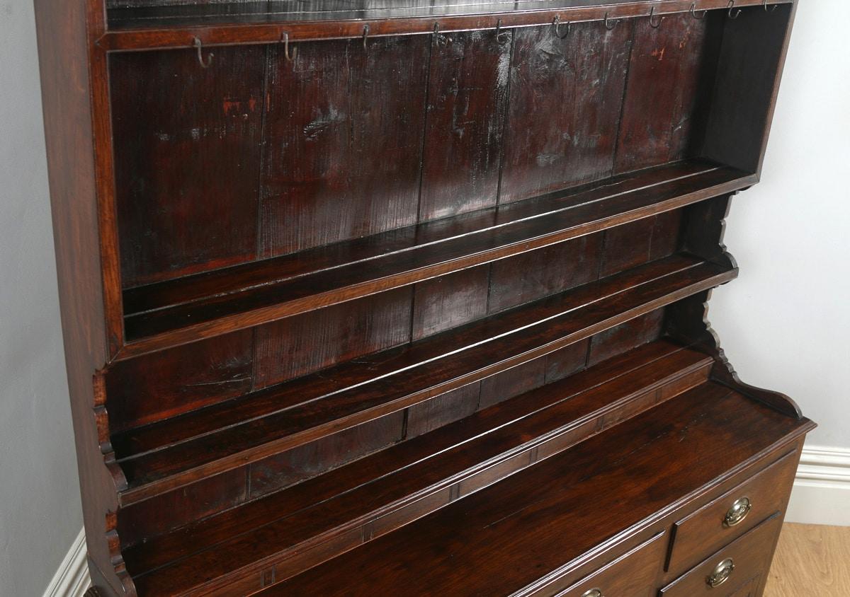 Antique Welsh Georgian Oak Dresser Base Amp Rack Sideboard