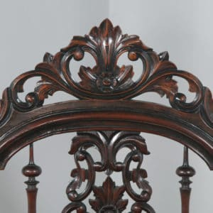 "Antique 4ft 6"" Victorian Anglo Indian Colonial Raj Double Four Poster Bed (Circa 1880) - yolagray.com"