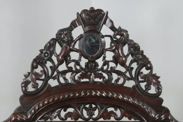 """Antique 4ft 6"""" Victorian Anglo Indian Colonial Raj Double Four Poster Bed (Circa 1870) - yolagray.com"""