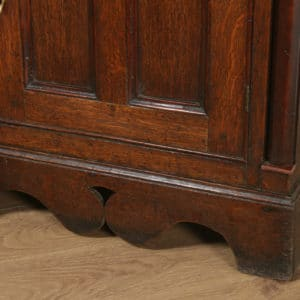 Antique Welsh Talwrn Anglesey Breakfront Georgian Oak Sideboard Dresser Base & Rack (Circa 1820) - yolagray.com
