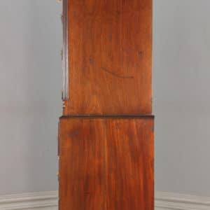 Antique English Georgian Chippendale Mahogany Tallboy Chest on Chest of Drawers (Circa 1780) - yolagray.com