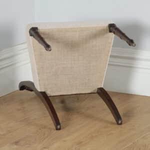 Antique English Georgian Regency Mahogany Dining Side Office Desk Chair (Circa 1820) - yolagray.com