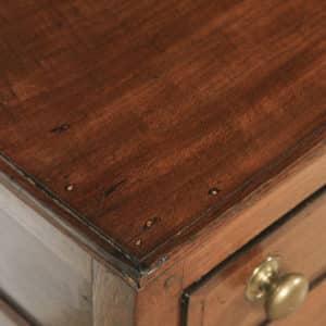 Antique English 19th Century Georgian Oak Shropshire Joined Low Dresser Base Sideboard (Circa 1800) - yolagray.com
