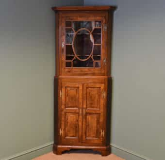 Yola Gray Antiques, Corner cupboard