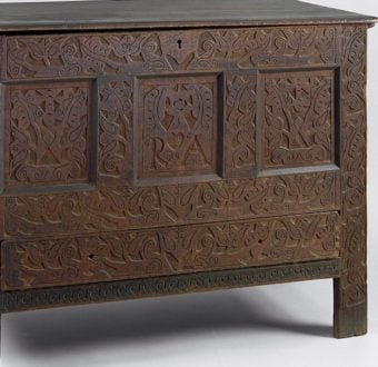 Yola Gray Antiques, Hadley chest Antique Style