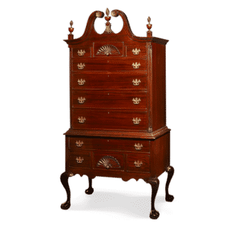 Yola Gray Antiques, Highboy Antique Style