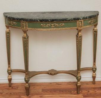 Yola Gray Antiques, Lunette Antique Style