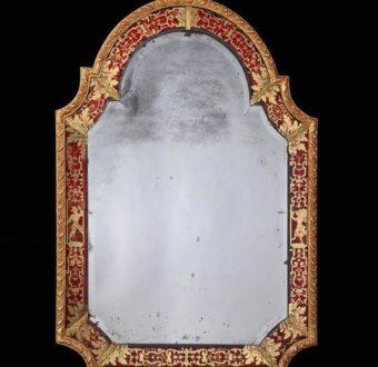 Yola Gray Antique Verre Eglomise Antique
