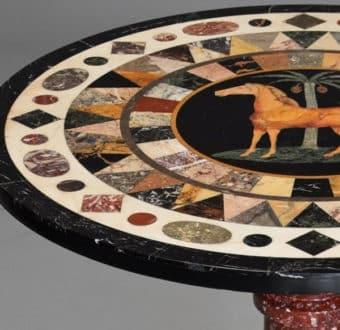 Yola Gray Antiques, Pietre dure Antique Style