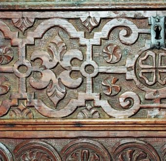 Yola Gray Antiques, Strapwork Antique Style