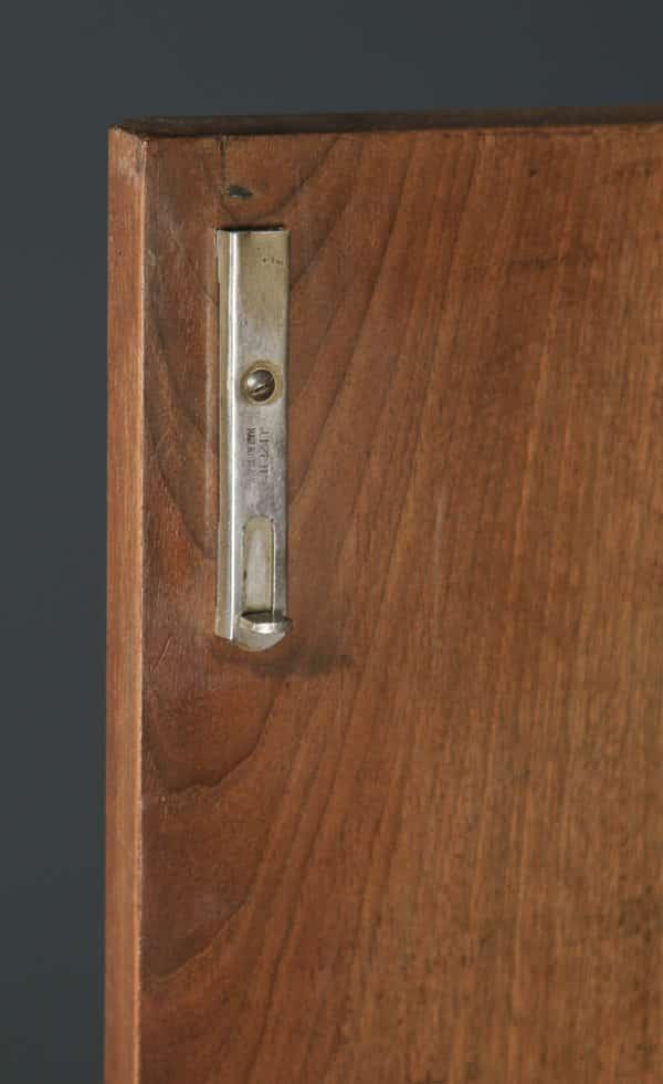 Antique Scottish Art Deco Burr Walnut Two Door Compactum Wardrobe By A&W Stewart (Circa 1930) - yolagray.com