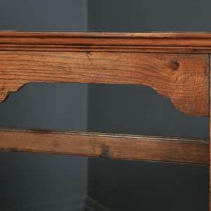 Antique Welsh Georgian Oak Dresser Base Sideboard Potboard & Rack (Circa 1810) - yolagray.com