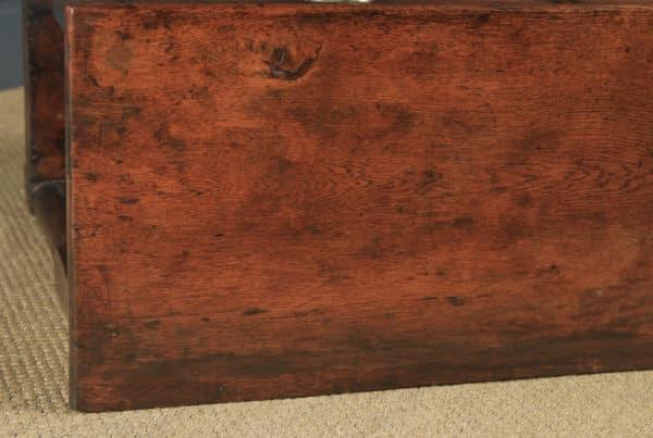 Antique Welsh Georgian Oak Potboard Low Dresser Base Sideboard (Circa 1810) - yolagray.com