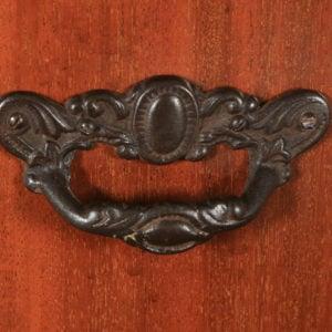 Antique English Edwardian Inlaid Mahogany Purdonium Coal Scuttle Bin (Circa 1910) - yolagray.com