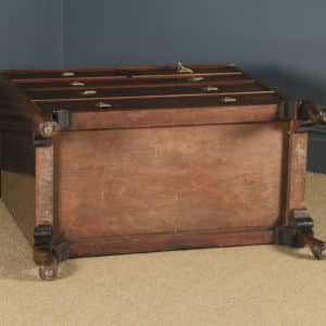 Antique English Queen Anne Style Figured Walnut Tallboy Linen Press Chest of Drawers by Waring & Gillow (Circa 1930) - yolagray.com