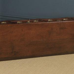 Antique English Lancashire / Cheshire Georgian Oak 7ft Low Dresser Base Sideboard (Circa 1750) - yolagray.com