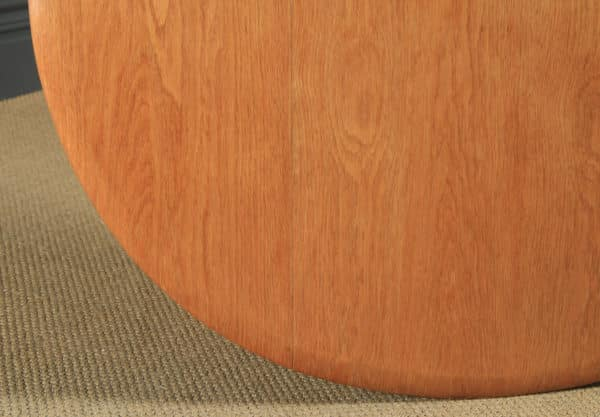Vintage Blonde Ercol Quaker Oak Drop Leaf Dining Table & Four Hoop Back Kitchen Chairs Dining Suite (Circa 1950) - yolagray.com