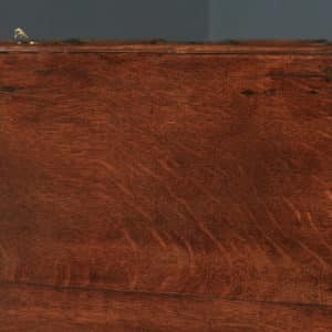 Antique English 17th Century William & Mary Oak Geometric Two-Part Chest of Drawers (Circa 1690) - yolagray.com