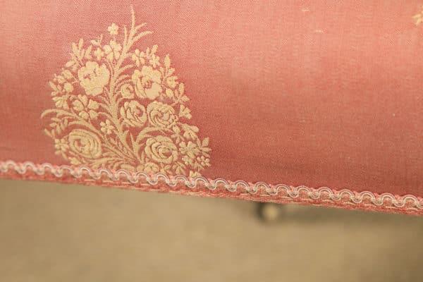 Antique English Victorian Mahogany Prie Dieu Prayer Occasional Nursing Chair (Circa 1860) - yolagray.com