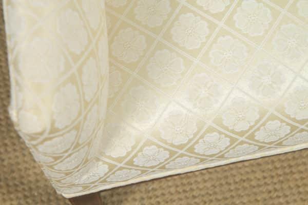 Antique English Pair of Edwardian Sheraton Style Upholstered Mahogany Inlaid Armchairs (Circa 1901) - yolagray.com