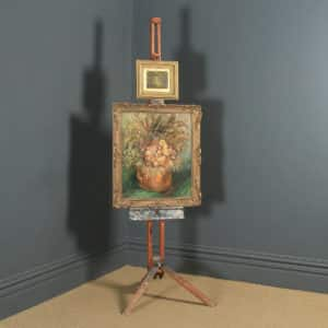 Antique English George V Winsor & Newton Artists Painting Picture Folding Easel (Circa 1930) - yolagray.com